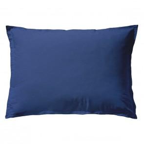 Essix Kussensloop Stonewashed Katoen Bleu Nuit
