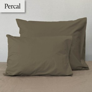 Dommelin Kussensloop Percal 200TC Taupe