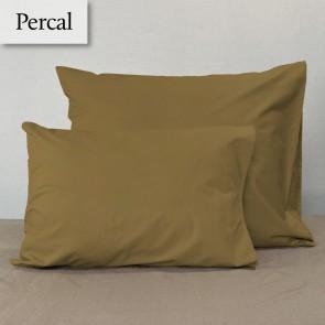 Dommelin Kussensloop Percal 200TC Brons 60 x 70 cm