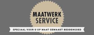 Maatwerk service