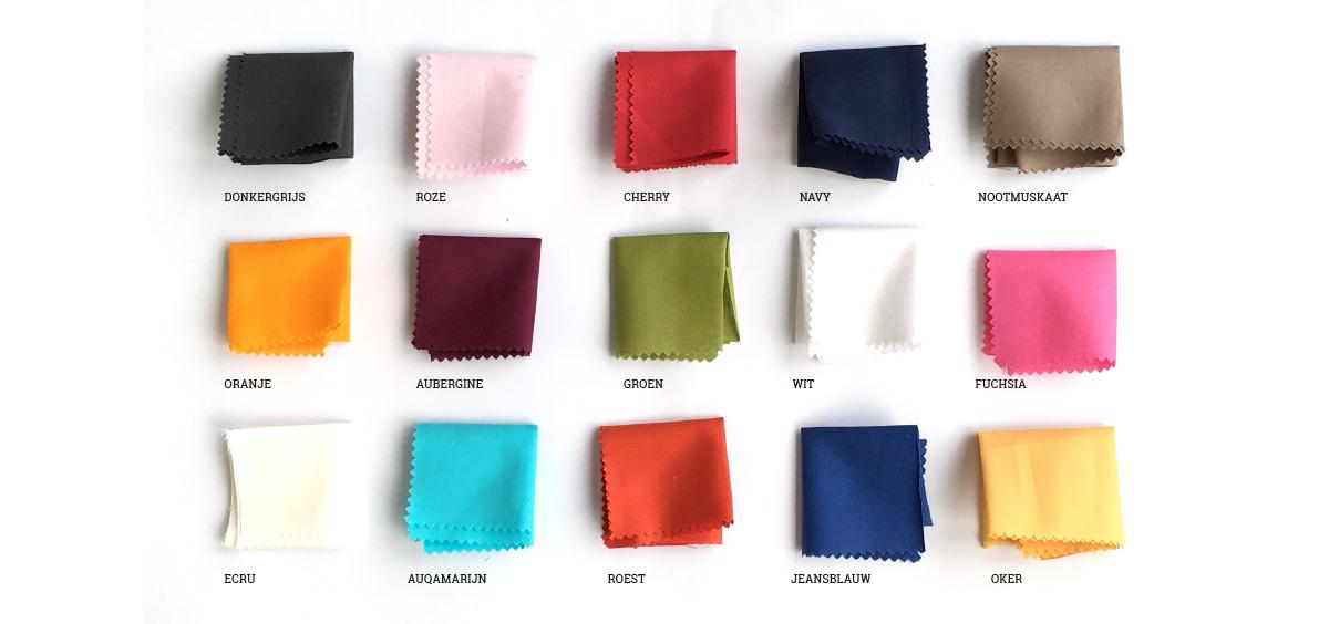Kleuren katoen