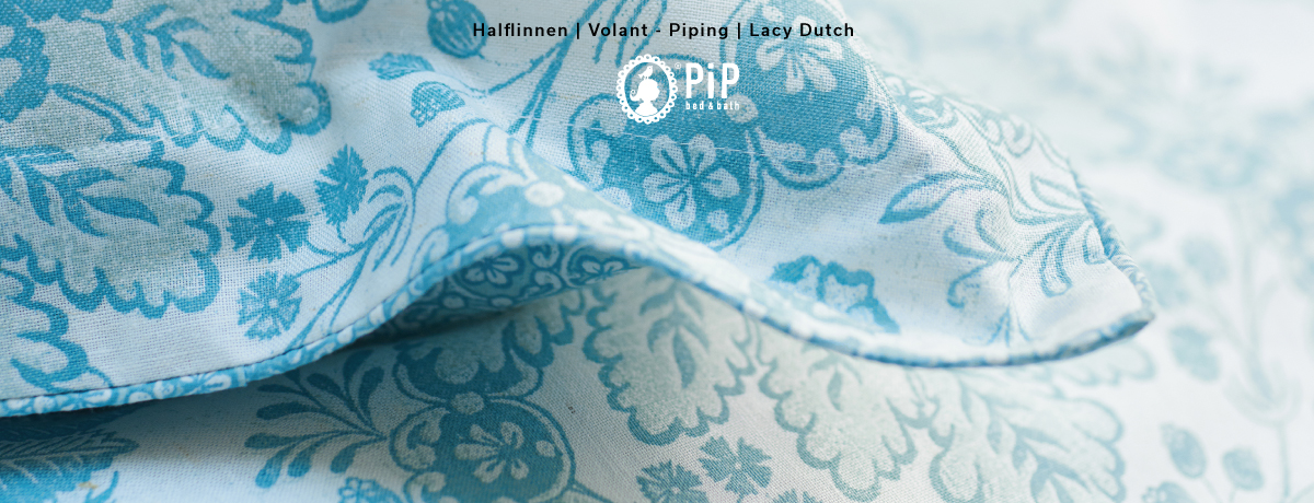 PIP Studio Dekbedovertrek Lacy Dutch Cameo