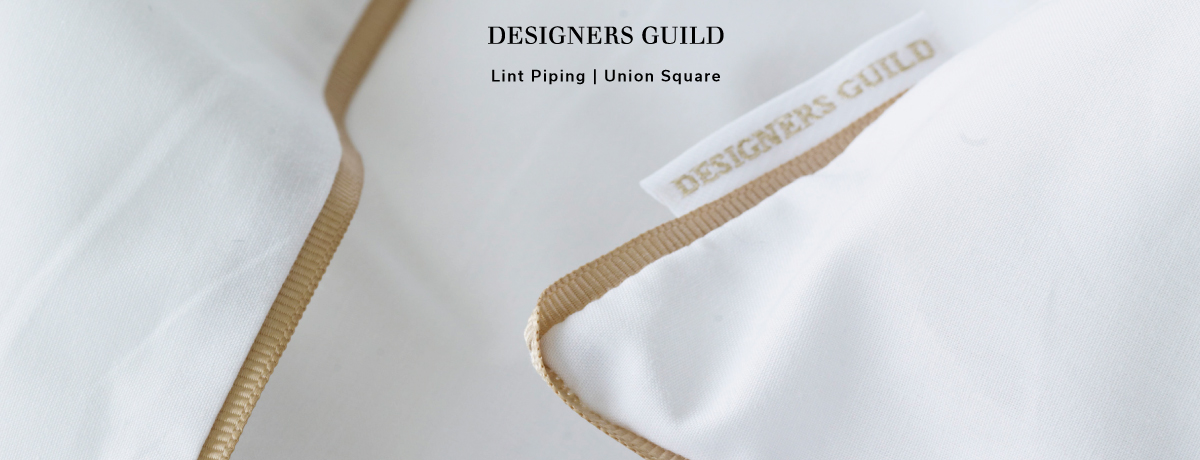 Designers Guild Dekbedovertrek Union Square Wit Goud