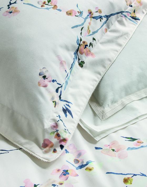 Dekbedovertrek Fleurs d'Aurore | Nina Ricci Maison