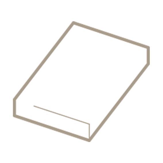 Topper hoeslaken hoge hoek voor een topdekmatras tot 14 cm